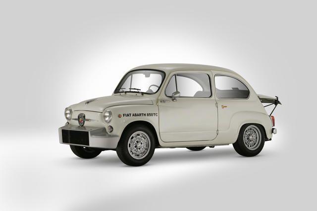 1961 Fiat Abarth 850 Tc Nurburgring Corsa Berlina Four Seat