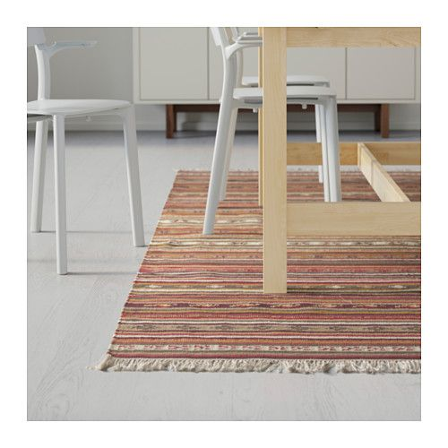 kattrup tapis tiss plat rouge multicolore 200x300 cm ikea tapis moquette pinterest. Black Bedroom Furniture Sets. Home Design Ideas