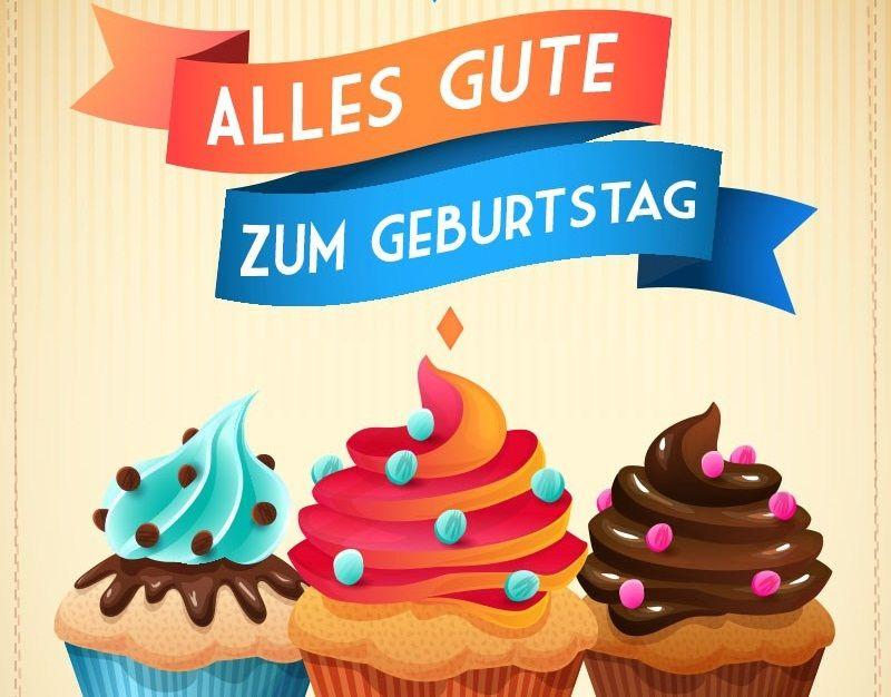 Happy Birthday In German Cake | Happy Birthday In German