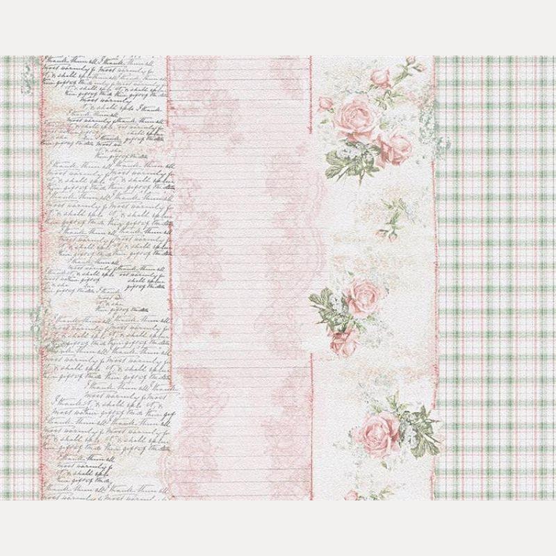Tapete Djooz Papier Duplex Dessin Deko Floral Landhaus.