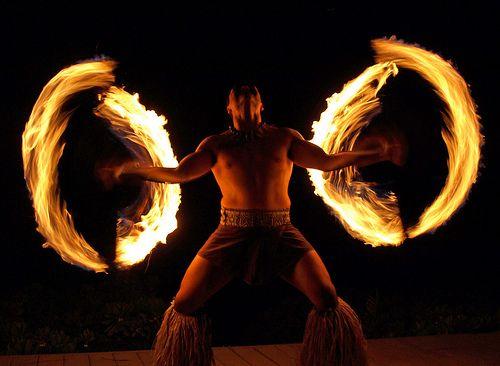 Samoan Fire Dance 3 - Maui, Hawaii by Barra1man (Catching Up), via Flickr