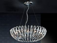 Plafoniere Da Soffitto In Cristallo : Lampade da soffitto di vetro modello ariadna