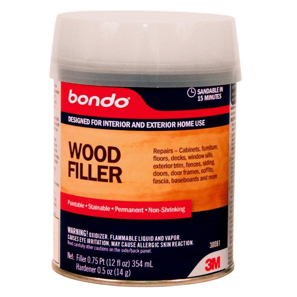 3m Bondo 12 Fl Oz Wood Filler 30081 Wood Filler How To