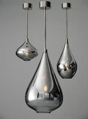 metallic raindrops in london ~ the modern sybarite - advice on interiors, art and design