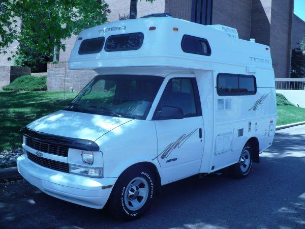 1997 CHEVY ASTRO VAN =TIGER   rigs   Bus motorhome, Astro