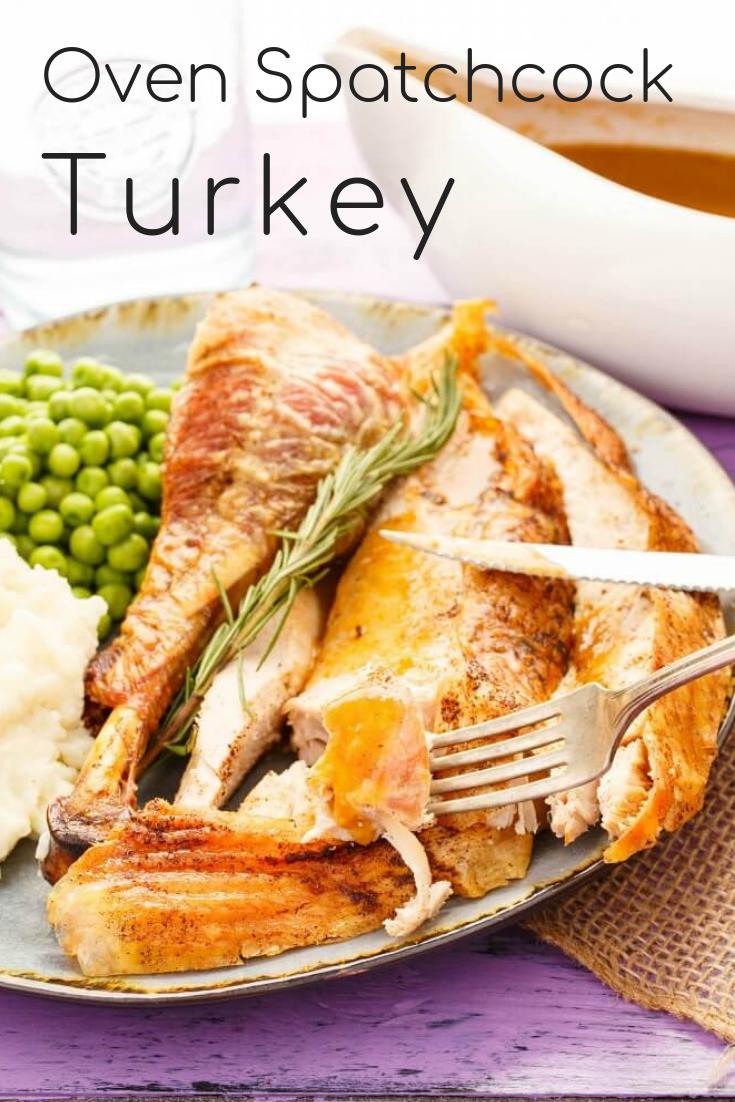 Oven Spatchcock Turkey Recipe Turkey, Turkey recipes