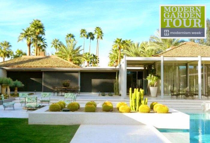 Palm Springs Landscape Design   Google Search Pool Pinterest   Bungalow  Garden Design