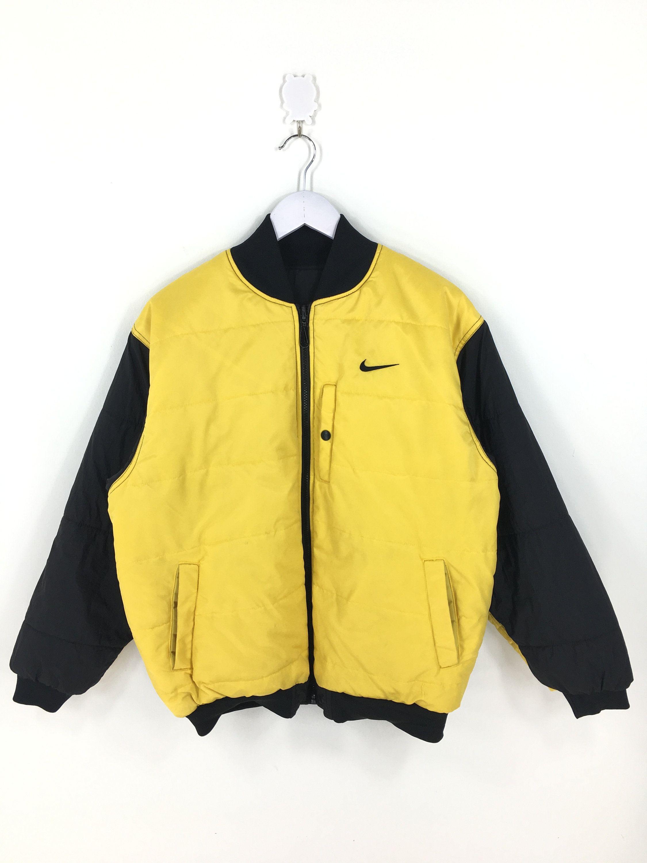 Nike Bomber Jacket Large Vintage 90s Reversible Nike Sports Etsy Nike Bomber Jacket Vintage Sportswear Bomber Jacket [ 3000 x 2250 Pixel ]