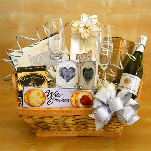 Gift Basket For Bride And Groom Wedding Night: Wedding Gift Baskets Ideas