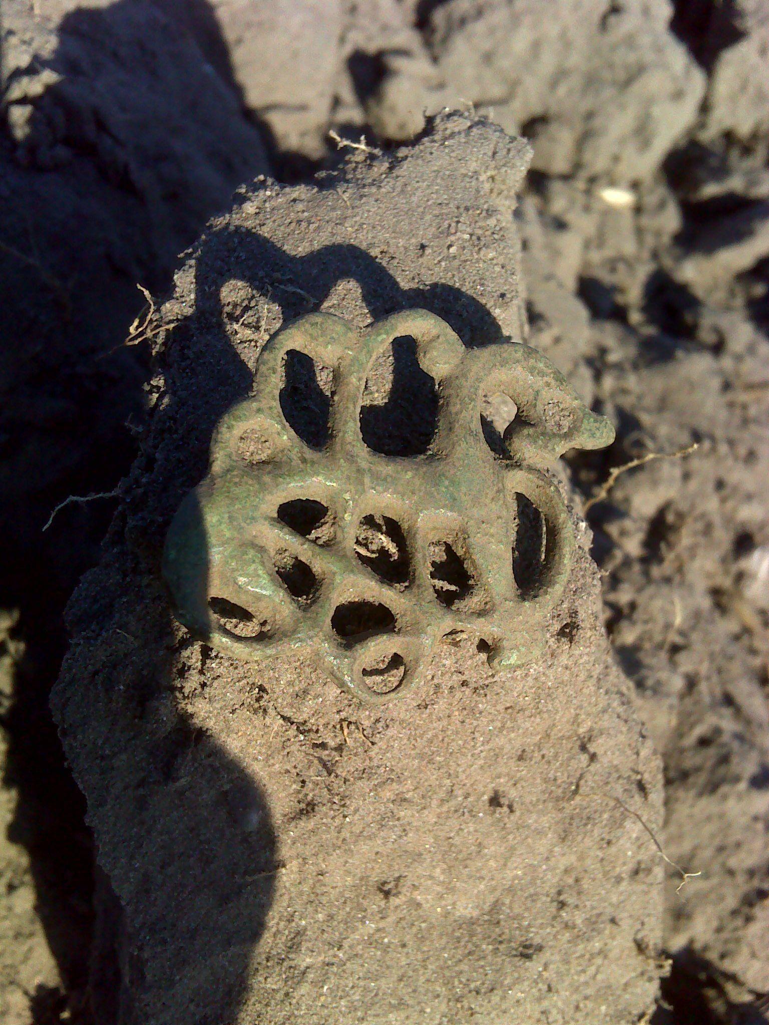 Urnesfibel urnes brooch middelalder medieval