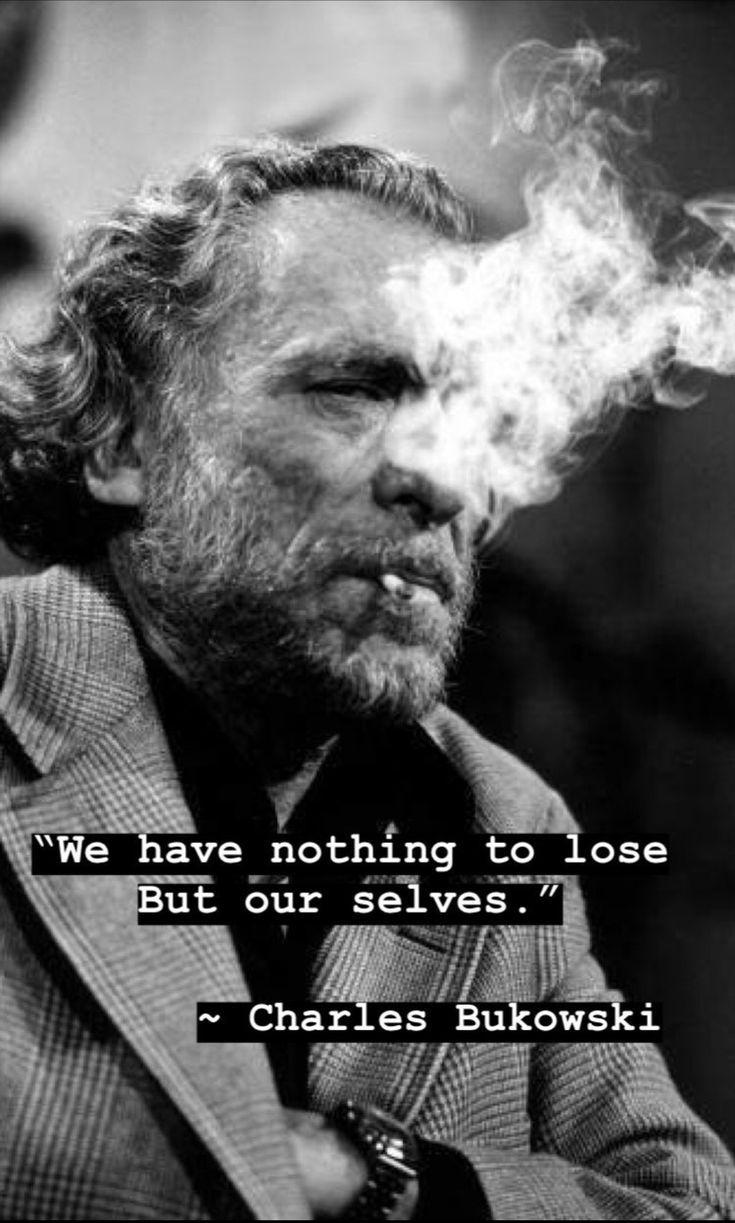 Charles Bukowski - mehr zu seinen Büchern auf meinem Blog.