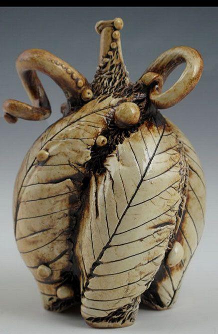 The Spirals Swirls Scrolls And Waves Of Carol Long S Pottery Ceramics Pottery Art Porcelain Art Pottery