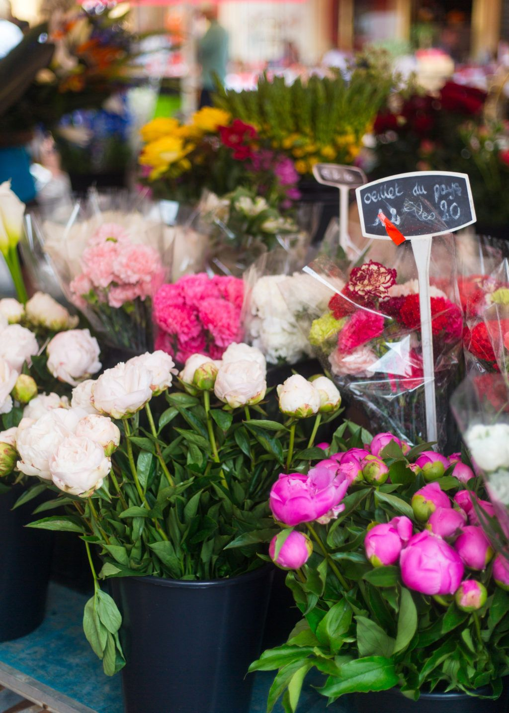 Nice Flower Market Saint Jean Cap Ferrat Flowers Pinterest