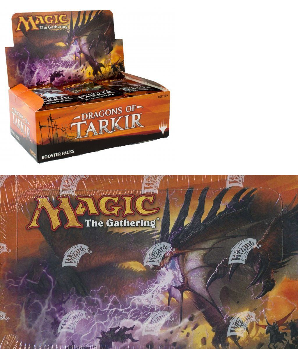 kaartspellen Magic the Gathering MTG Dragons of Tarkir Factory Sealed Booster Box Magic: The Gathering, MTG)