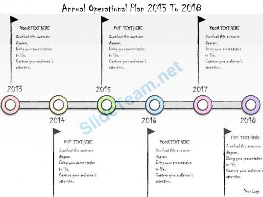 Business Ppt Diagram Annual Operational Plan  To