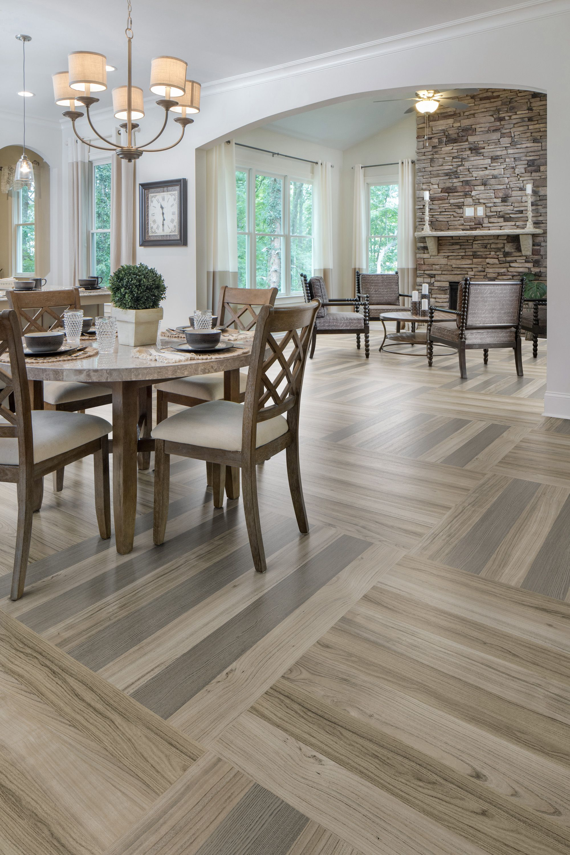 Featuring Luxury Vinyl Plank And Tile Point Of View From Our