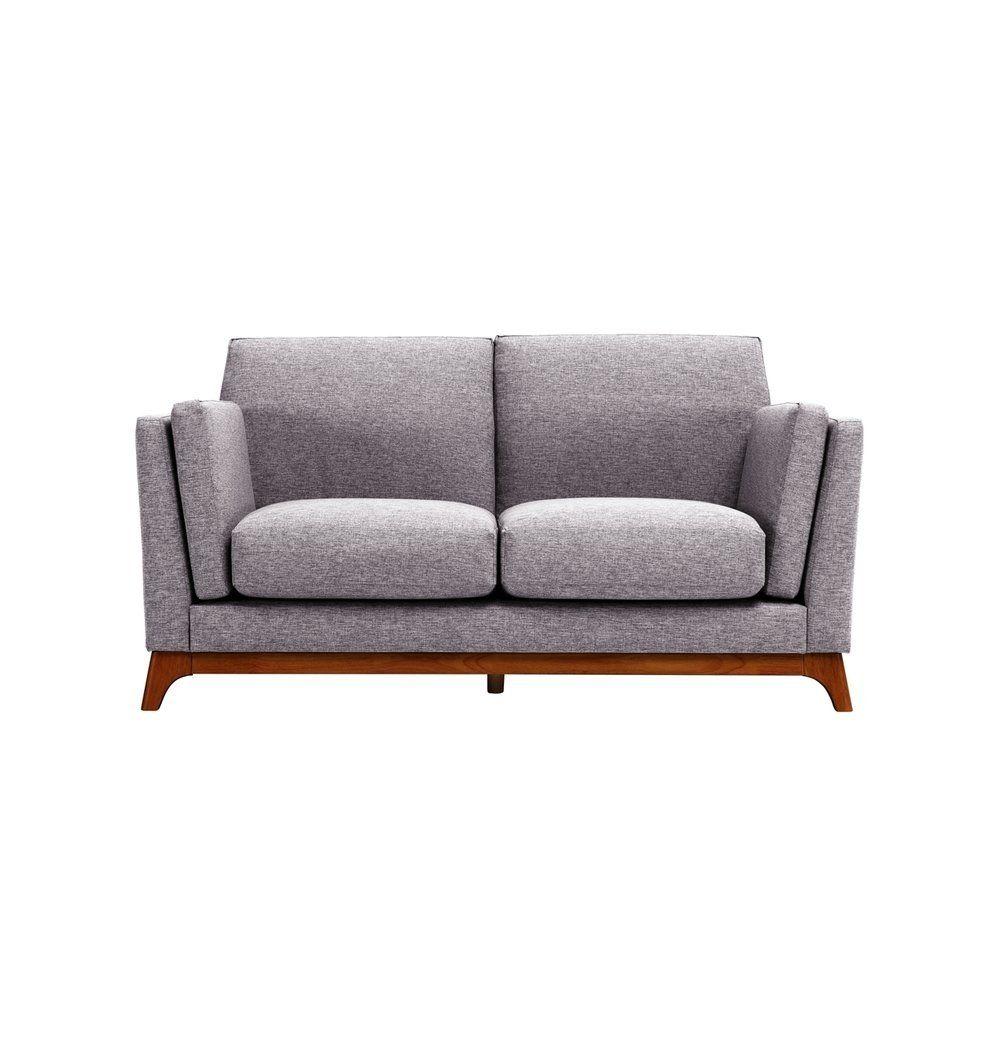 Awe Inspiring Ceni Loveseat 2 Seater Sofa Pebble Cocoa In 2019 Cjindustries Chair Design For Home Cjindustriesco