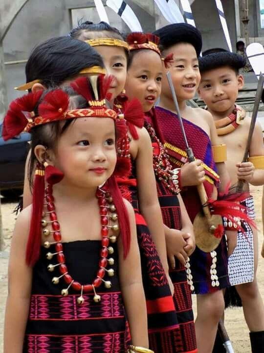 Naga childrens | traditional NE India | Northeast india