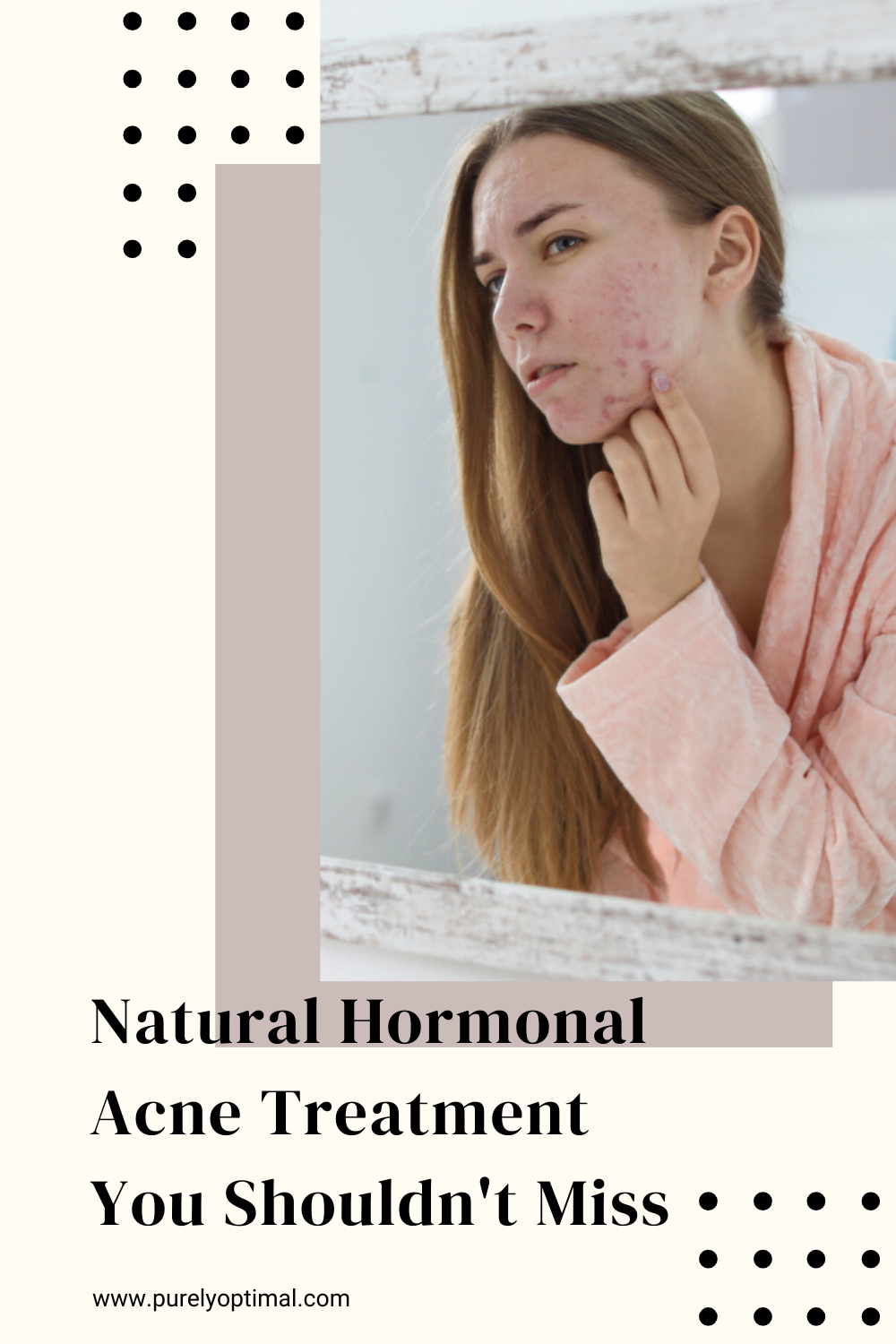 Got hormonal acne breakouts? Don't lose hope! Inside this blog are some helpful tips and a takeaway on how to naturally treat this hormonal imbalance effect. #hormonalacnetreatment #acnetreatment #acneskincareroutine #hormonalimbalance #acnebreakout #acne #breakout #hormonalacne #hormoneimbalance