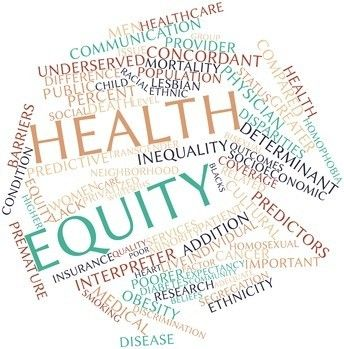 Word Cloud For Health Equity Social Determinants Of Health