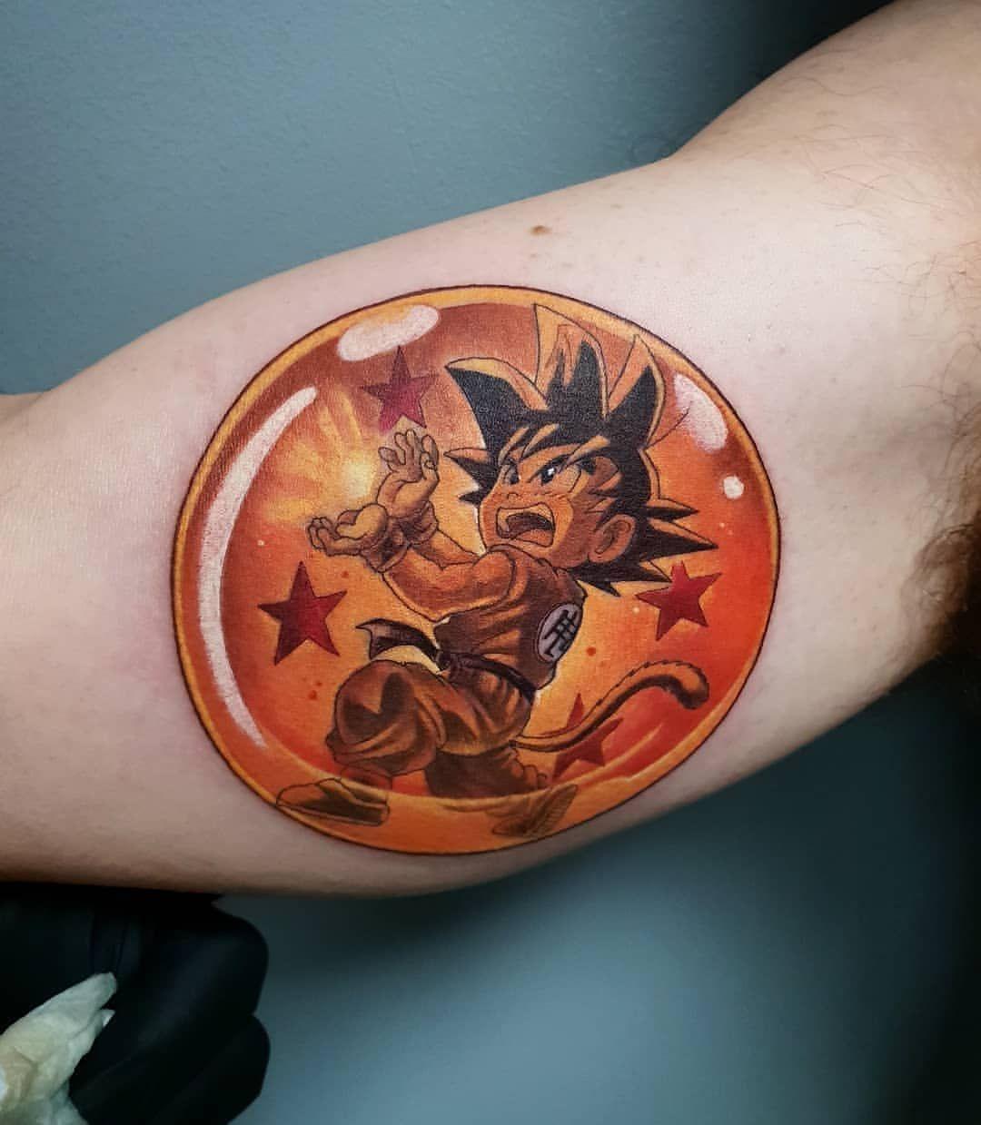 Kid Goku Tattoo Kidgokutattoo Kidgoku Dragon Ball Tattoo Dbz Tattoo Z Tattoo