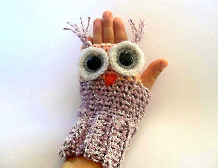 Crochet Shark Fingerless Glove Pattern Owl Fingerless