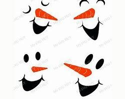 Image Result For Free Printable Snowman Face Template Craft