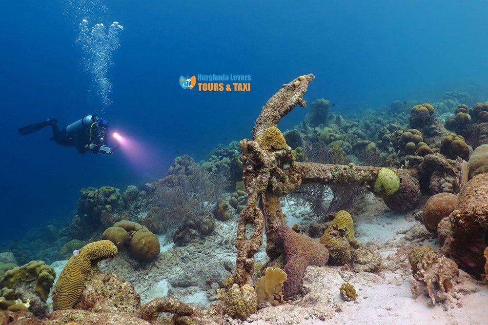 Bestes Tauchen Rotes Meer El Gouna Tauchpunkt Karte Hurghada