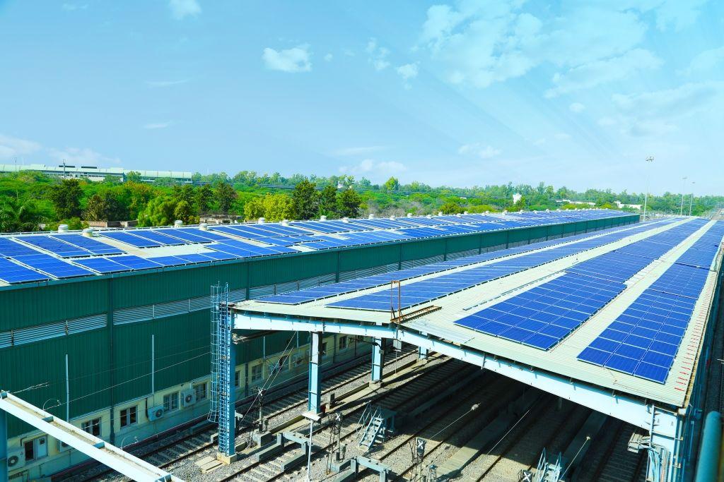 Azure Power(s) Delhi Metro Rail Corporation Rooftops with