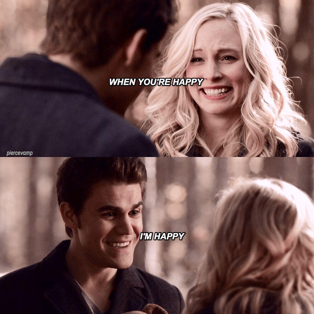 Stefan And Caroline Stefan E Caroline Vampire Diaries The