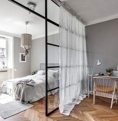 Rideau Pour Verriere 침실 En 2019 Idee Deco Studio