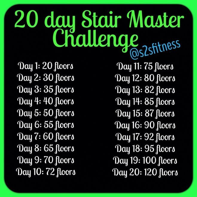 Pin By Katrina Horton On Exercise Stretch Gym Workout For Beginners Stairs Workout Cardio Workout Plan