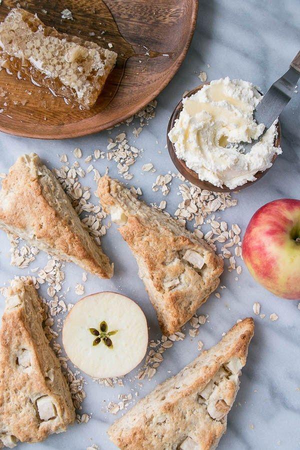 Apple And Honey Oat Scones Sweet Savory Recipes Honey