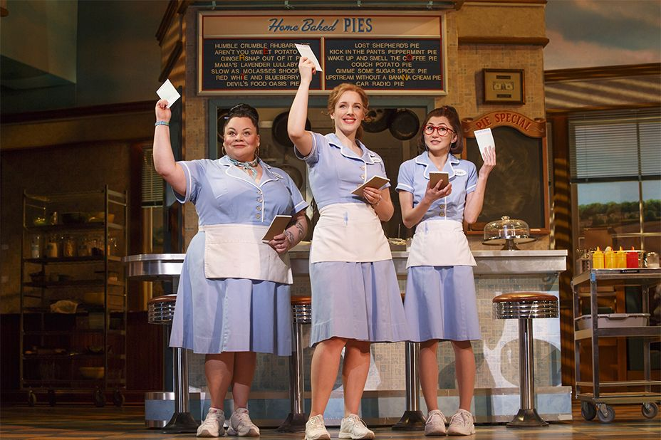 Off Script Orange Is The New Black S Kimiko Glenn Serves Physical Comedy In Waitress Waitress Musical Musicals Musical Theatre