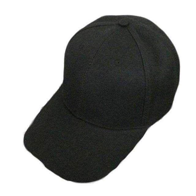 4a3ed28bc4b Brand Canvas Baseball Cap Fashion Blank Hat Solid Color Adjustable Hat  Feminino Touca