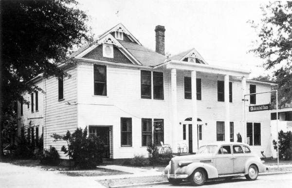 Florida Memory Colonial Inn Hotel Blountstown