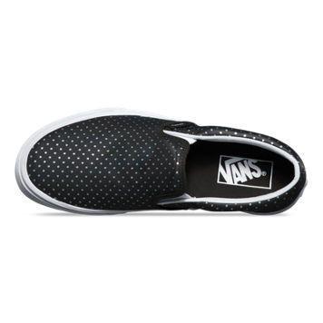 Perf Hologram Slip On #vans #sneakers #kicks #shoes #skate