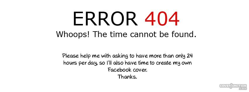 error 404 Facebook Cover | Frontpage, coverpage | Pinterest