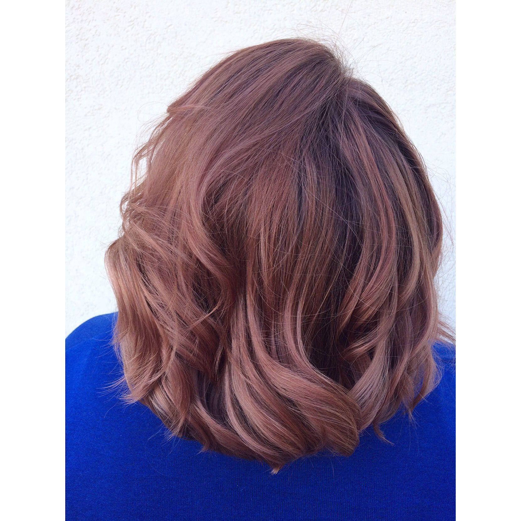 Rose gold color redken shades eq hair ideas pinterest rose
