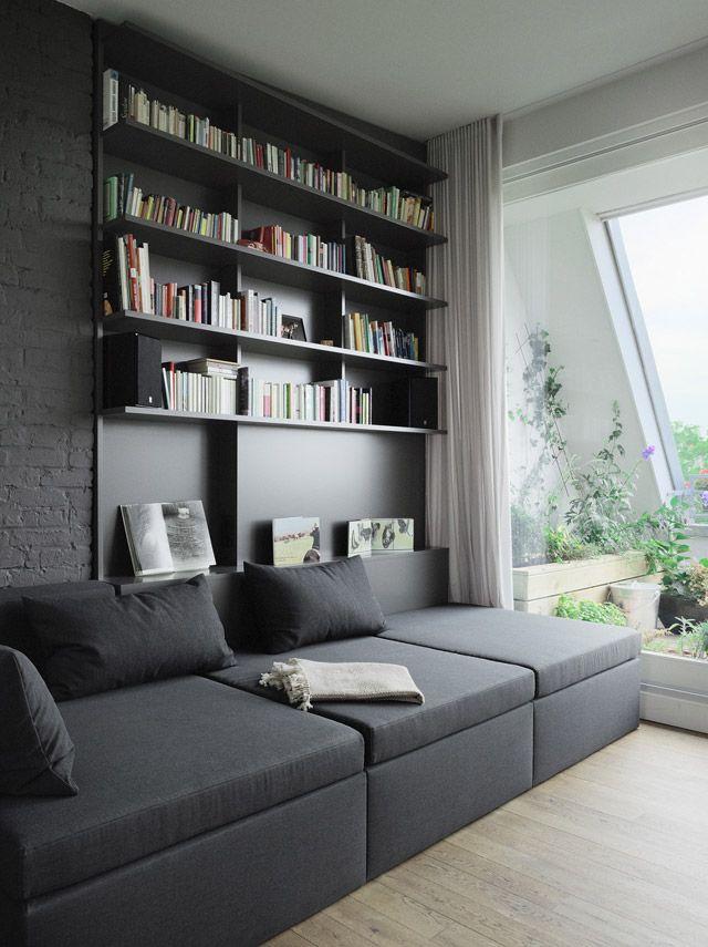 Pin von Evelina Alor auf Small space Pinterest Architekten - architekt wohnzimmer