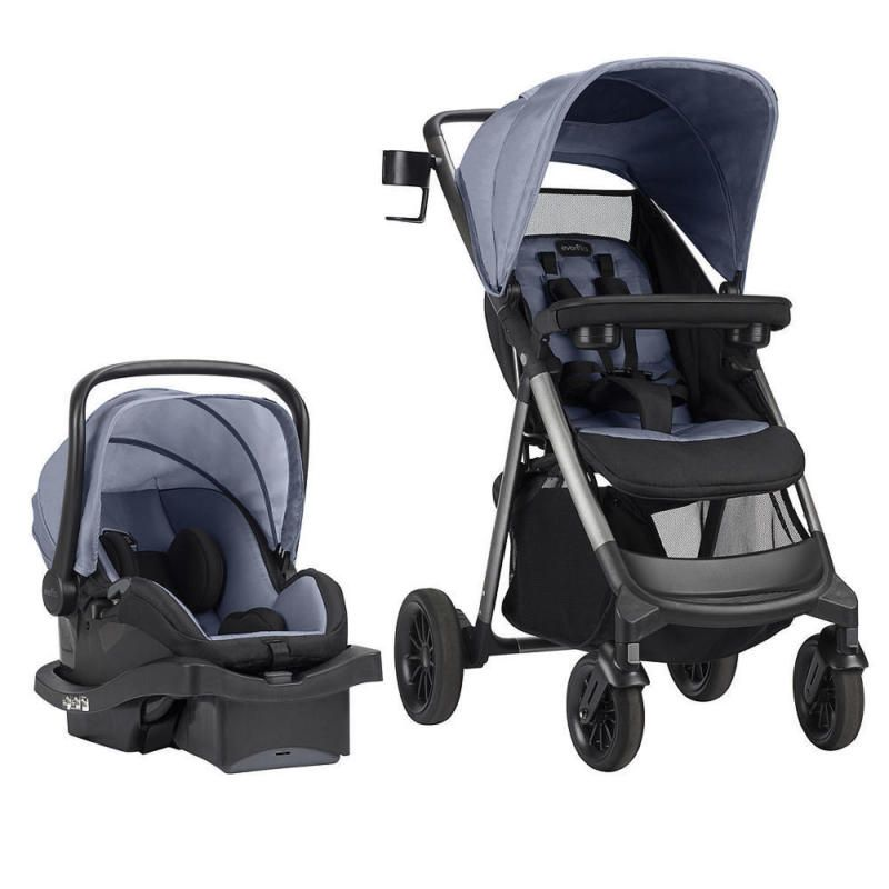 Evenflo Lux24 Travel System With LiteMax 35 Infant Car Seat