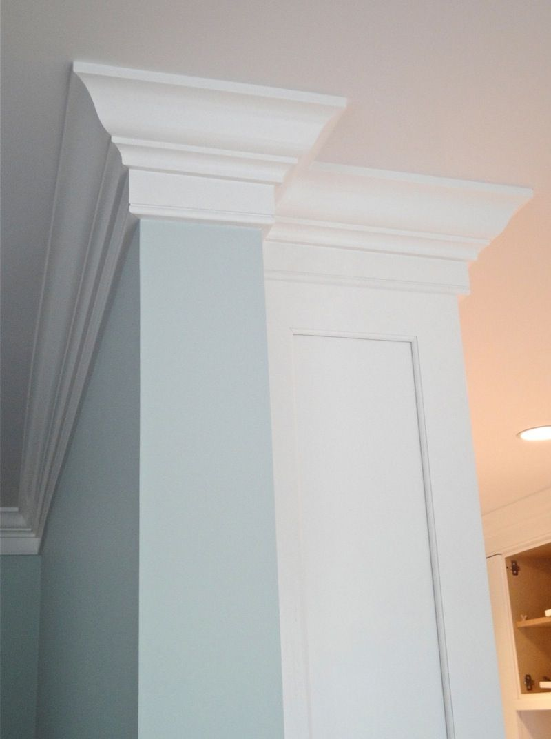 Crown Molding Transition For The Home Pinterest Crown Molding