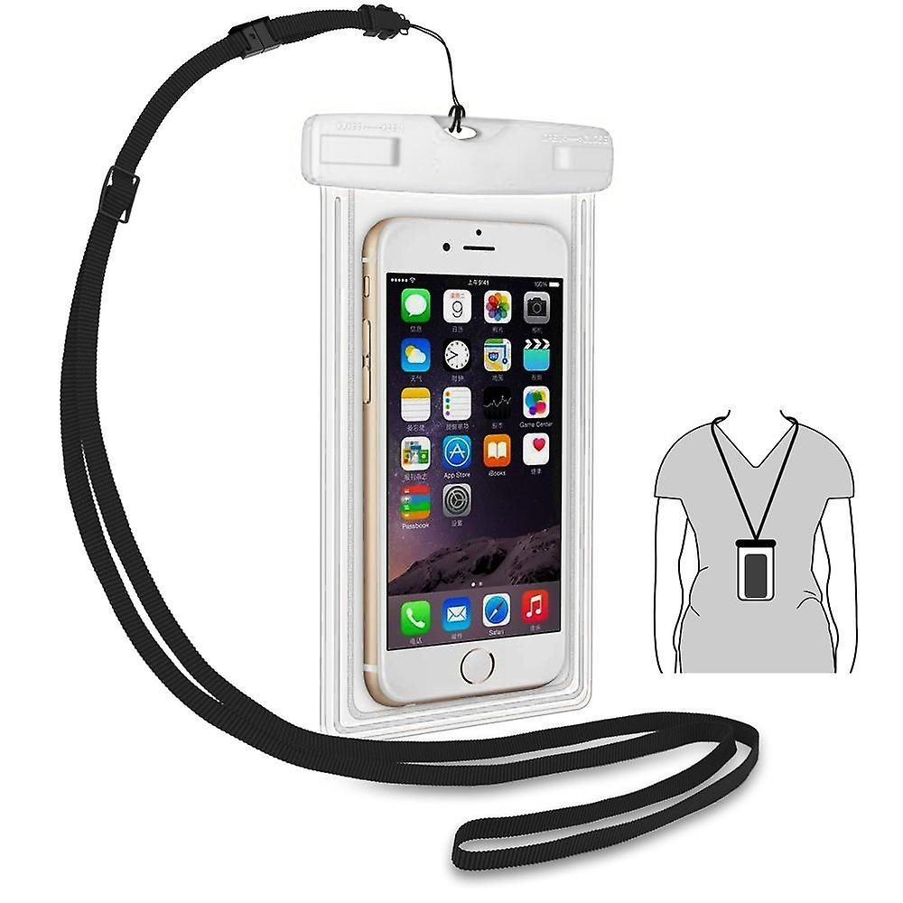 the latest 3338c 2afd5 ONX3 (White) ZTE Zmax Pro Universal Durable Underwater Dry Bag ...