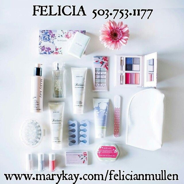 Introducing the new Limited Edition Spring Collection 2016. Believe me when I tell you that these new products are FABULOUS. These are a must have for your collection. Great gifts for Easter and Mother's Day. Contact me today so you can get yours. Refer to the picture for my contact info. www.marykay.com/felicianmullen