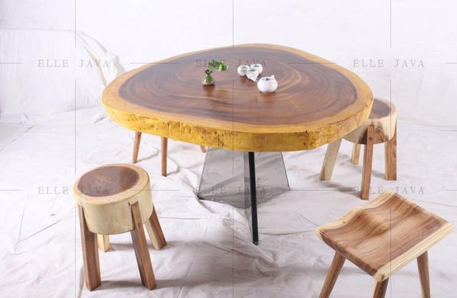 Source Solid Teak Wood Round Coffee Table On M Alibaba Com Round Wood Coffee Table Round Coffee Table Wood Dining Table