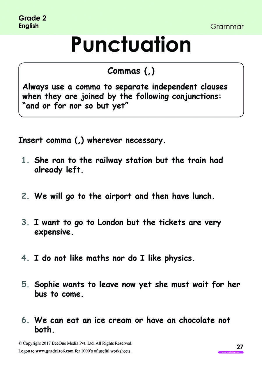 Pin on Grade 2 English Worksheets: PYP/CBSE/ICSE [ 1273 x 900 Pixel ]