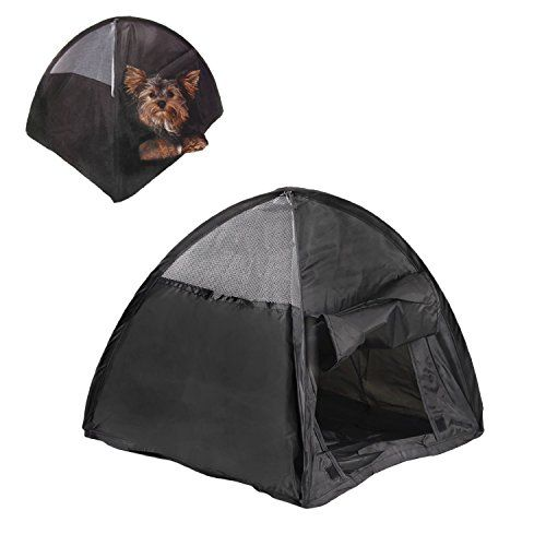 NEW Small Pop Up C&ing Tent 14 Inch Black Nylon DOG Puppy Pet Cat Bed -  sc 1 st  Pinterest & NEW Small Pop Up Camping Tent 14 Inch Black Nylon DOG Puppy Pet ...