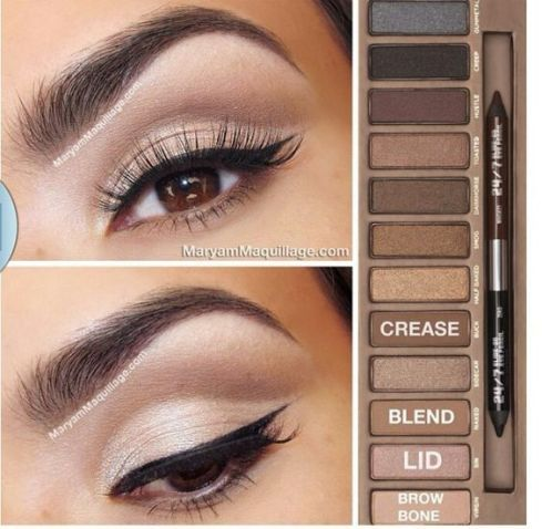 The Best Naked Palette Makeup Tutorials - Society19 Nakedpalette - Makeup Tutorials