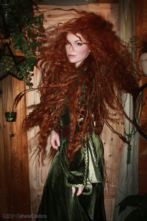 Sexy woodland elf redhead pics 125