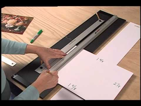 How To Calculate Border Sizes Logan Graphic - Youtube Video | Art ...